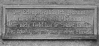 Erlpeterbrunnen Inschrift